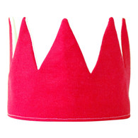 Fable Heart Crown, Hot Pink
