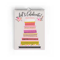 Let's Celebrate Birthday Book