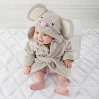 """Hooded """"Little Mouse"""" Robe"""