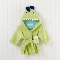 "Hooded ""Little Dino"" Robe"