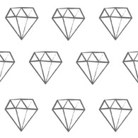 Diamonds Fabric Wall Decals