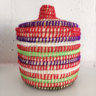 Moroccan Basket, Red