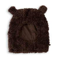 Mini Rodini Balaklava, Brown