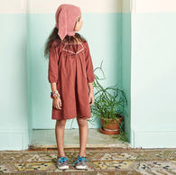 Oeuf Boho Dress, Rust