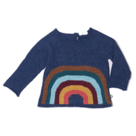 Oeuf Rainbow Sweater, Indigo