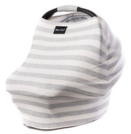 Milk Snob Cover Cream and Grey Stripes