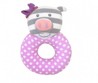 Penny the Pig Organic Rattle