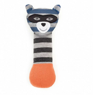 Robbie Raccoon Organic Squeaky Toy
