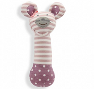 Ballerina Mouse Organic Squeaky Toy