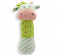 Belle Cow Organic Squeaky Toy