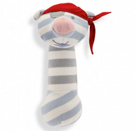 Pirate Pig Organic Squeaky Toy