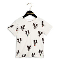 Mini Rodini Badger Short Sleeve Tee