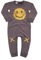Rock Your Baby Graffiti Grin Playsuit