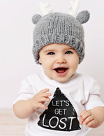Deer Hat, Grey