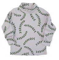 Fin & Vince Leaf Turtleneck