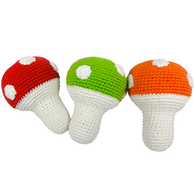 Toadstool Rattle, Red