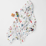 Circus Muslin Swaddle