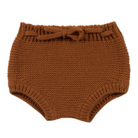 Rylee & Cru Knit Bloomers, Rust