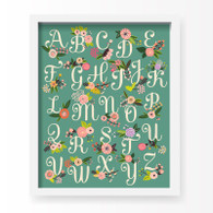 Lil' Learner Alphabet Art Print, 8 x 10