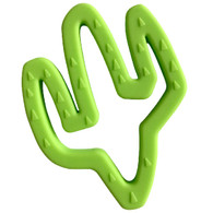 Cactus Teether, Lime