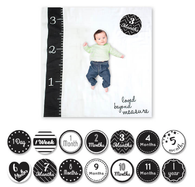 Muslin Blanket & Milestone Card Set, Ruler