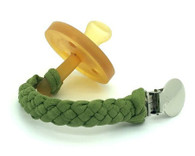 Pacifier Clip, Willow Green