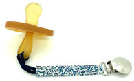 Pacifier Clip, Blue Liberty