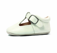 Leather Mary Jane Shoe, White