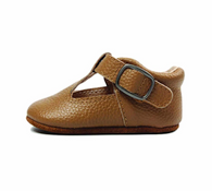 Leather Mary Jane Shoe, Tan
