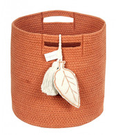 Basket Leaf, Terracota