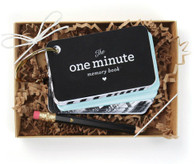 The One Minute Memory Book, Blue
