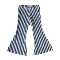Chelsea Striped Stretch Knit Bell Bottoms