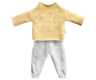Best Friends Jogging Outfit, Yellow, for Hazel Village Doll