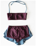 Wolf & Rita Benedita Bordeaux Swimsuit