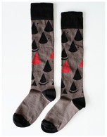 Wolf & Rita Socks, Geometric