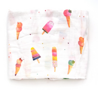 Bamboo Swaddle, Ice Cream Sherbet