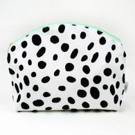 Waterproof Simple Clutch, Black & White