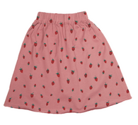 Oeuf Jersey Skirt, Strawberries