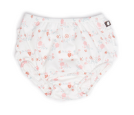 Oeuf Ruffle Bloomers, White Flowers