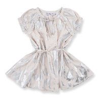 Suki Dress, Silver Splash