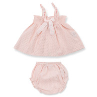 Izy Baby Set, Silver Dot Powder
