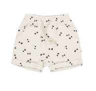 Rylee & Cru Bow Tie Sweat Shorts