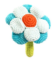 Flower Rattle, Blue