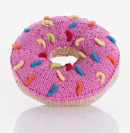 Donut Rattle, Pink