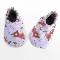 Baby Shoes, Pink Floral