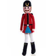 Nutcracker Soldier Large Crochet Toy