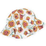 Sunhat, Yellow Carnation