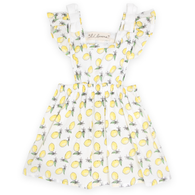 Lemon Drop Pinafore Dress
