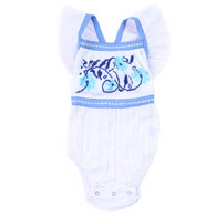 Camille Sunsuit, Embroidered