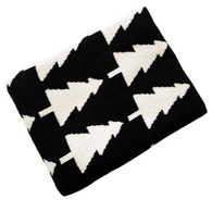 Eco Forest Blanket Black/Cream